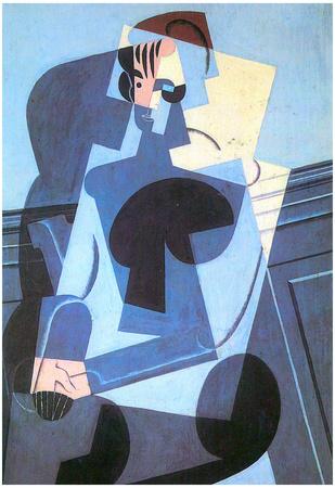 Juan Gris Portrait of Madame Josette Gris Cubism Art Print Poster Prints