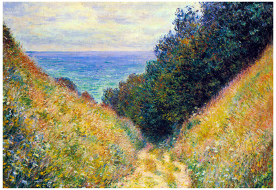 Claude Monet Pourville 1 Art Print Poster Prints