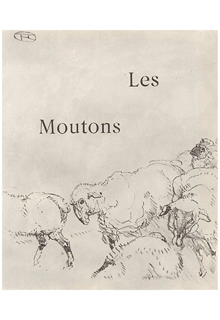 Henri de Toulouse-Lautrec (Illustration to Jules Renard