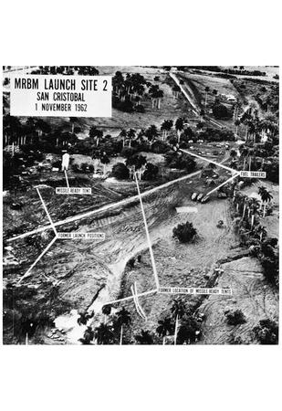 Cuban Missile Crisis (Missile Launch Sites) Poster Print