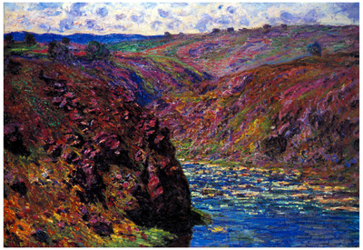 Claude Monet Les Eaux Semblantes in the Sunlight Art Print Poster Photo