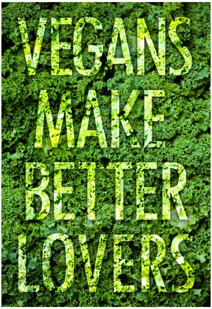 Vegans Make Better Lovers Poster Print Poster