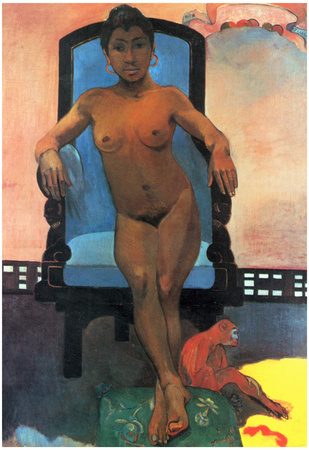 Paul Gauguin Anna the Java Woman Art Print Poster Prints