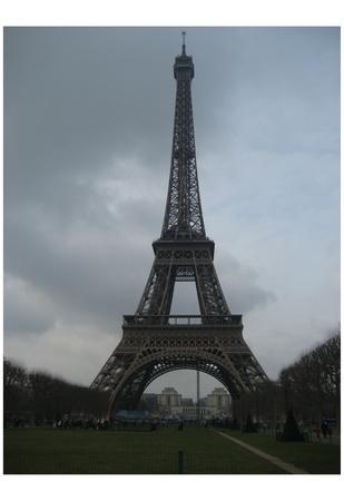 Paris, France (Eiffel Tower) Art Poster Print Posters