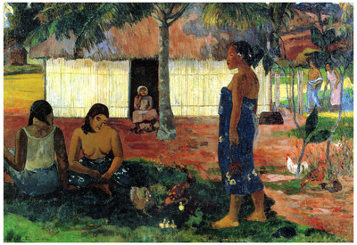 Paul Gauguin Why Are You Angry Art Print Poster Posters