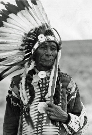 Native Americans Headdress Archival Photo Poster Print Photo