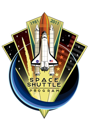 Space Shuttle Program 30th Anniversary 1981-2011 Poster Prints