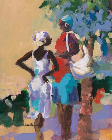 Saturday Morning I Art by Jane Slivka