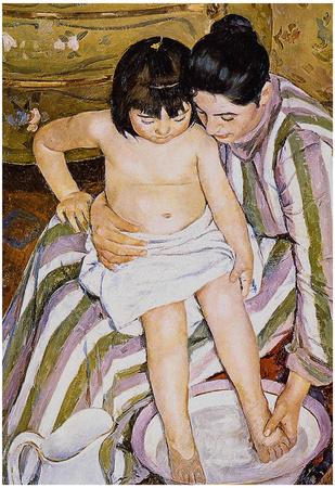 Pierre Auguste Renoir The Bath Art Print Poster Prints