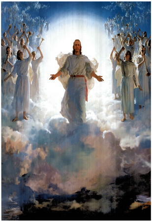 Second Coming Of Jesus Christ Art Print POSTER quality plakat