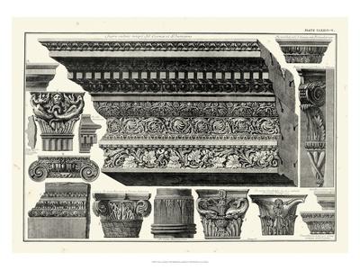 Cornice et Damiani Posters by Giovanni Battista Piranesi