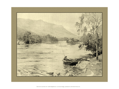 On the River III Print by Ernest Briggs