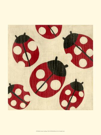 Best Friends - Ladybugs Prints by Chariklia Zarris
