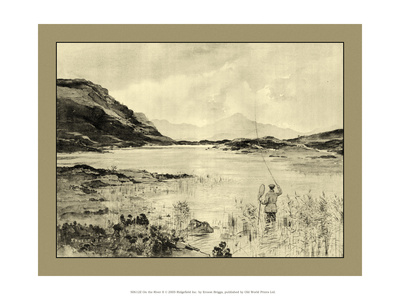 On the River II Prints by Ernest Briggs
