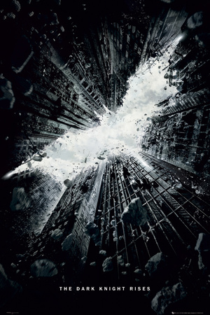 Batman : The Dark Knight Rises - Logo - Bande-annonce Affiche