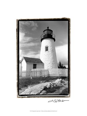 Pemaquid Point Light, Maine I Kunstdrucke von Laura Denardo