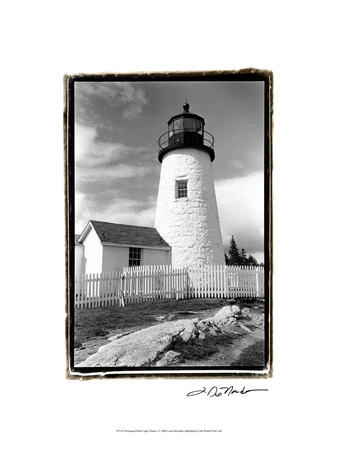 Pemaquid Point Light, Maine I Stampe di Laura Denardo