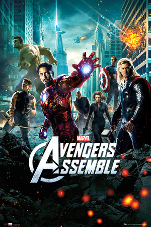 Avengers-One Sheet Póster