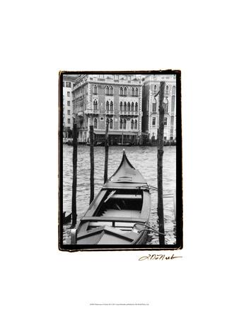Waterways of Venice III Posters by Laura Denardo