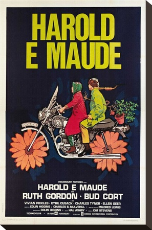 Harold and Maude Stretched Canvas Print