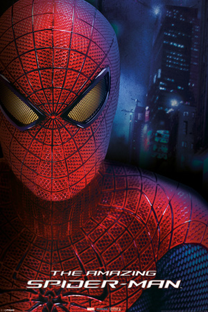 The Amazing Spider Man - Portrait de face Affiche