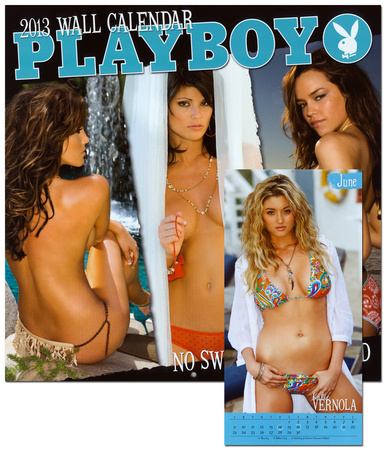 Playboy - No Swimsuit - 2013 Calendar Calendarios