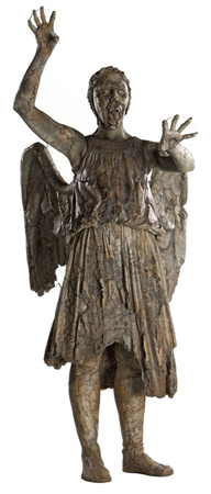 Doctor Who-Weeping Angel Attacking Cardboard Cutouts
