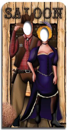Wild West-Stand-In Figura de cartón