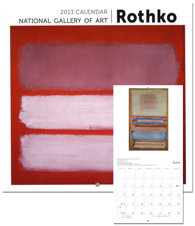 Rothko : National Gallery Of Art, mini-calendrier mural 2013 Calendriers