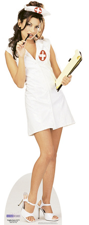Naughty Nurse Figura de cartón