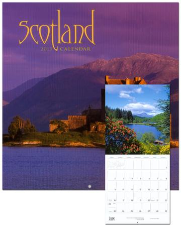 Scotland 2013 wall calendar kalendere