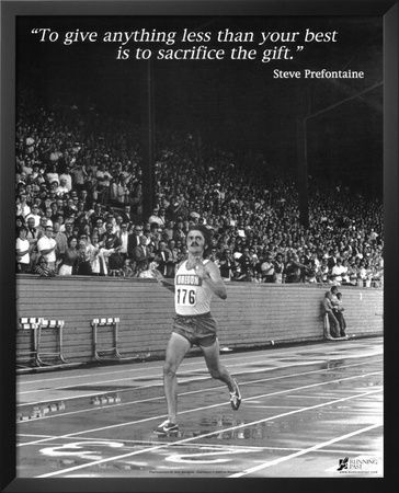 Steve Prefontaine: The Gift Posters