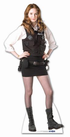 Doctor Who-Amy Pond-Policewoman Uniform Cardboard Cutouts