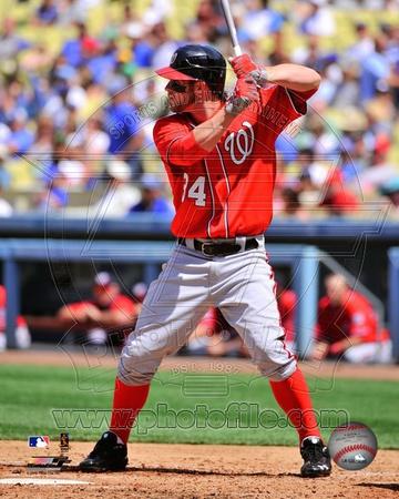MLB Bryce Harper 2012 Action Photo