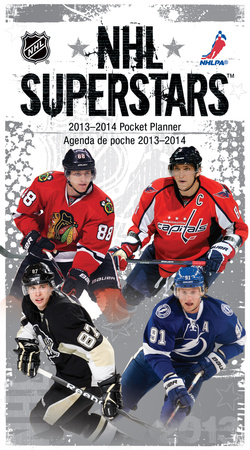 NHL Superstars - 2013 Pocket Planner Calendar Calendriers