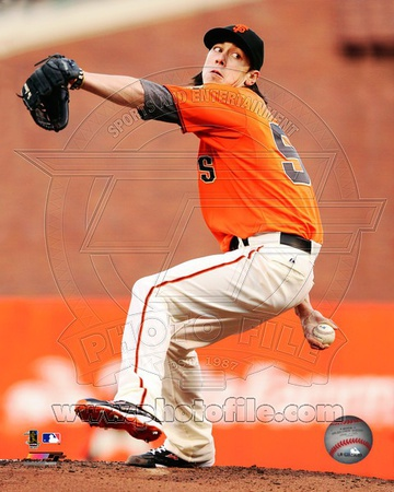 Tim Lincecum 2012 Action Photo