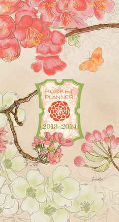 Asian - Evelia - 2013 Pocket Planner Calendar Calendriers