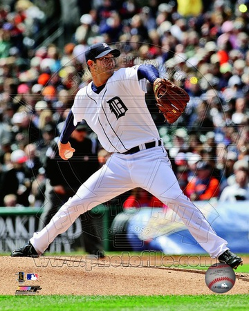 Rick Porcello 2012 Action Photo