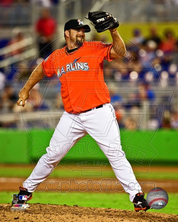 Heath Bell 2012 Action Photo
