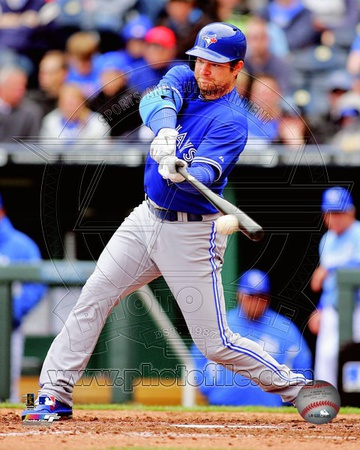 Adam Lind 2012 Action Photo
