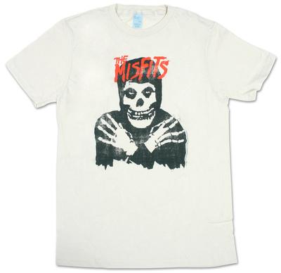 Misfits - Classic Skull Distressed T-shirts