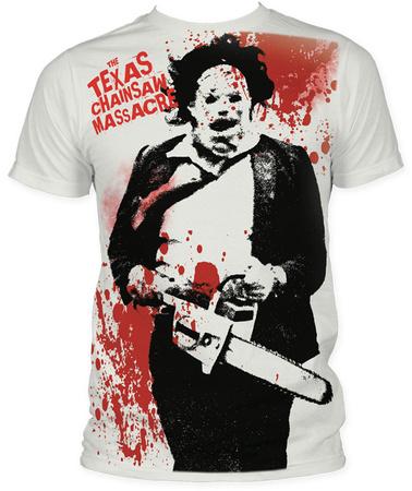 Texas Chainsaw Massacre - Spatter T-shirts