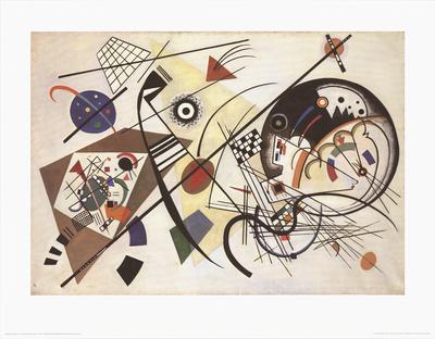 Durchgehender Strich Posters by Wassily Kandinsky