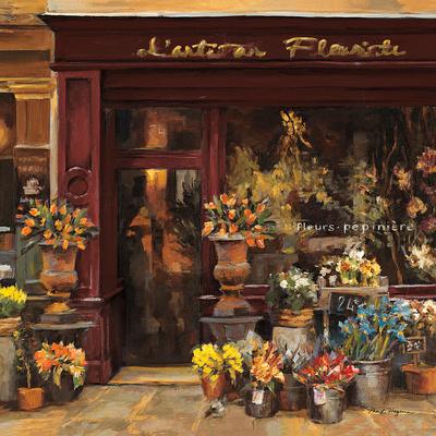 Parisian Shoppe I Prints by Marilyn Hageman