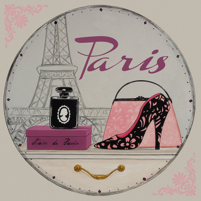 Paris Bling Bling I Reproduction d'art