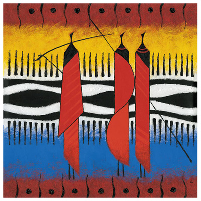 Masai Zèbre Posters by Christian Keramidas