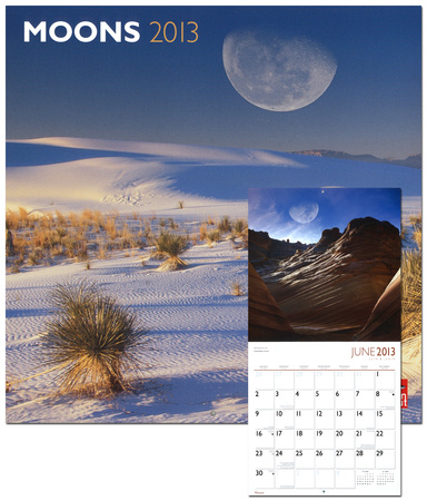Moons - 2013 Wall Calendar Calendars - by AllPosters.ie