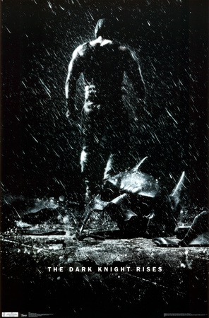 Batman The Dark Knight Rises BANE Poster 2012