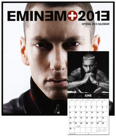 Eminem - 2013 Wall Calendar Calendarios en AllPosters esEminem 2013 Calendar