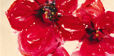Exotic Reds Posters by Lilian Scott